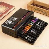36色水彩筆涂鴉繪畫彩筆禮盒兒童粗頭水彩筆安全環保套裝  JY9747【pink中大尺碼】