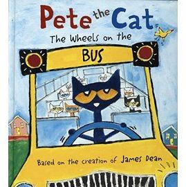 【麥克書店】PETE THE CAT:  WHEELS ON THE BUS /精裝繪本