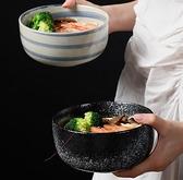 日式陶瓷泡面碗帶蓋單個便當碗學生宿舍易清洗大飯碗家用碗筷套裝 - 風尚3C