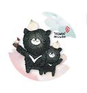 【收藏天地】hibeetle紙膠帶-黑熊好吃 (單捲入/寬2cm/全長10m) 手作 手帳 日記 文創
