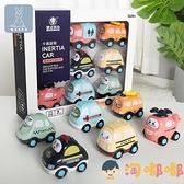 兒童回力車慣性小汽車工程車寶寶玩具車男孩【淘嘟嘟】
