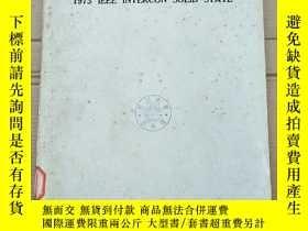 二手書博民逛書店1973罕見IEEE intercon solid state(P2676)Y173412