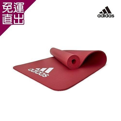 Adidas 輕量防滑彈性運動墊-7mm(紅) x1【免運直出】