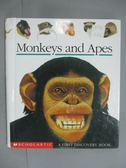 【書寶二手書T4/少年童書_KKD】Monkeys and Apes (First Discovery Books)_S