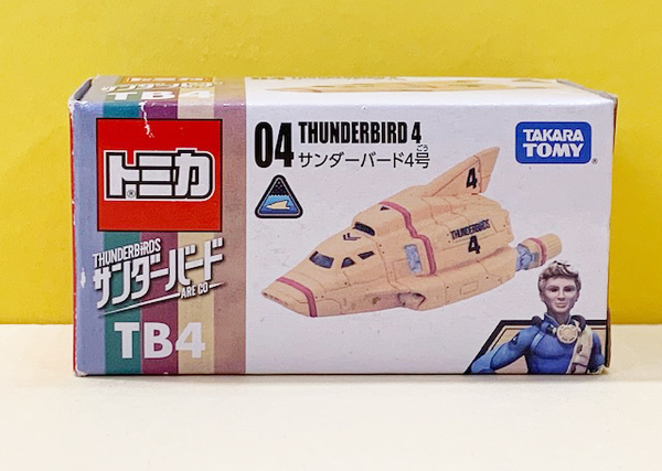【震撼精品百貨】 TOMICA多美~TOMICA THUNDERBIRDS 飛機04#83927