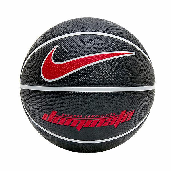 Nike Dominate 8P [N000116509507] 籃球 7號 耐磨 控球佳 室內 戶外 黑紅