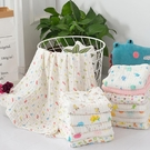 嬰兒紗布浴巾超柔吸水新生兒寶寶純棉包被嬰幼兒童洗澡毛巾原本良品