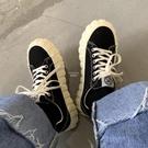 快速出貨日常上課穿搭韓系學院風少女經典百搭低筒帆布鞋