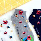 韓版 現貨 芝麻街 人物滿版 短襪 三款 ELMO 可愛 造型 襪子