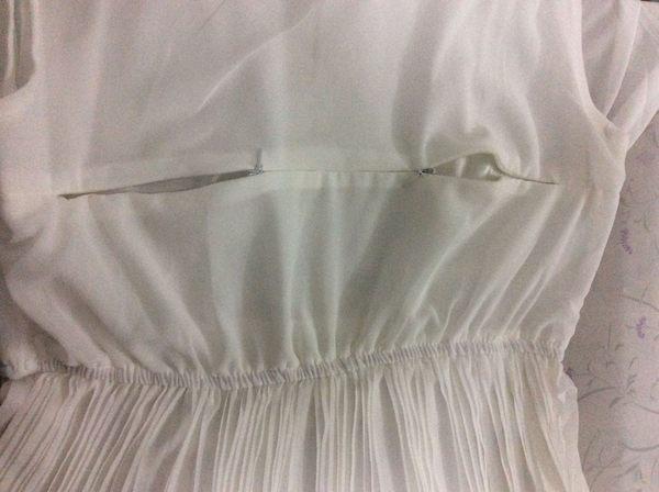 2017夏季新款時尚珍珠雪紡無袖百褶孕婦哺乳連衣裙 外出哺乳衣