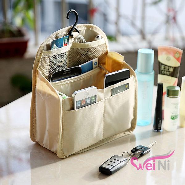wei-ni 後背包專用內部包中包(中) 旅行收納袋中袋 旅行袋 收納包 化妝包 包包收納袋 收納袋 後背包