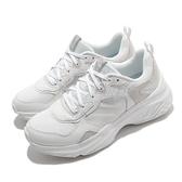 Skechers 休閒鞋 Energy Racer-Embrace Her 白 灰 女鞋 老爹鞋 復古慢跑鞋 厚底 增高 【ACS】 149370WHT