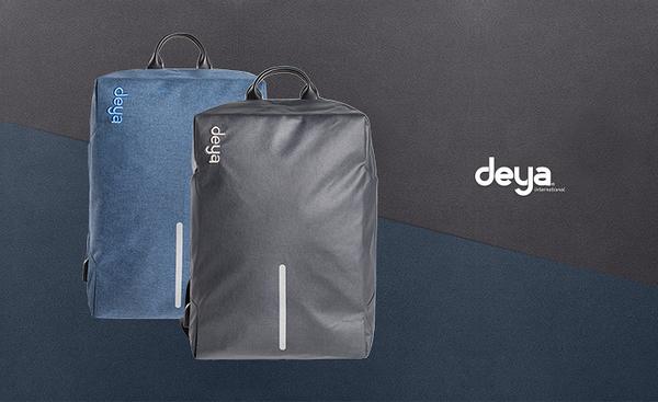 deya - 極簡機能15.6吋筆電 防盗包-2色
