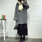 韓版秋冬內搭高腰修身中長款刺繡蕾絲吊帶打底裙大碼背心連衣裙女『櫻花小屋』