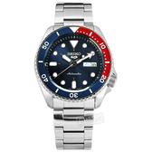 SEIKO 精工 / 4R36-07G0R.SRPD53K1 / 5 Sports 機械錶 自動上鍊 不鏽鋼手錶 藍色 41mm