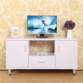 電視櫃組合簡約現代小戶型客廳臥室簡易高款電視機櫃電視桌落地櫃  igo 『名購居家』