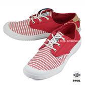 Palladium 新竹皇家 VOYAGE 旅行系列 桃粉色 布質 線條 低筒 休閒鞋 女款 NO.I7725