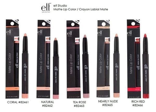 【愛來客 】美國彩妝ELF Matte Lip Color超質感霧面絲絨啞光唇膏口紅6色可選
