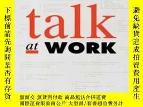 二手書博民逛書店Talk罕見At Work: Interaction In In