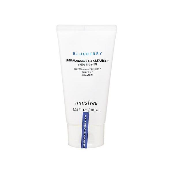 韓國 Innisfree 藍莓再平衡潔顏乳(100ml)【小三美日】洗面乳