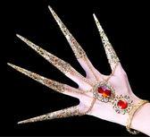 手錬手指飾品指套舞蹈長指