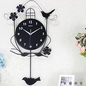 時尚創意歐式鐘表掛鐘客廳 米蘭世家