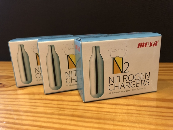 Bubbling Plus 驚奇瓶 - Mosa N2 純氮氣補充包 1盒 / 10顆入 3盒特惠組
