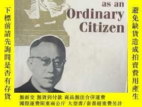 二手書博民逛書店China's罕見last emperor as an ordi