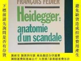 二手書博民逛書店Heidegger:anatomie罕見d un scandal