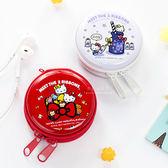 Hello Kitty 迷你鐵盒零錢包耳機手納包 隨身包 收納包 小物收納