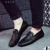 鞋子潮鞋懶人鞋社會豆豆鞋男潮流