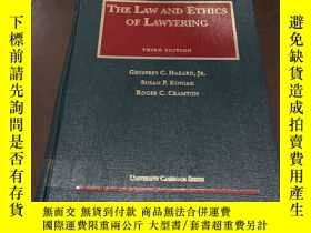 二手書博民逛書店The罕見Law and Ethics Of Lawyering