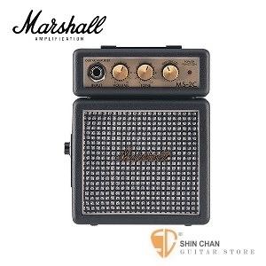 【缺貨】英國品牌 Marshall MS-2C / ms2c 迷你電吉他音箱【MS2C/攜帶式音箱】  吉他音箱 / 電池