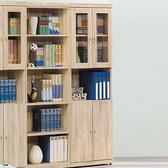 【YFS】安娜耐磨2x6尺四門書櫃59.9x31.8x180.29cm橡木