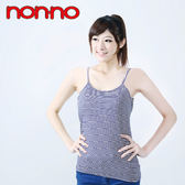 【non-no儂儂褲】(2入)Bra條紋吊帶-20397