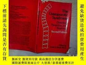 二手書博民逛書店THE罕見OSTEOPOROTIC SYNDROME (09)Y