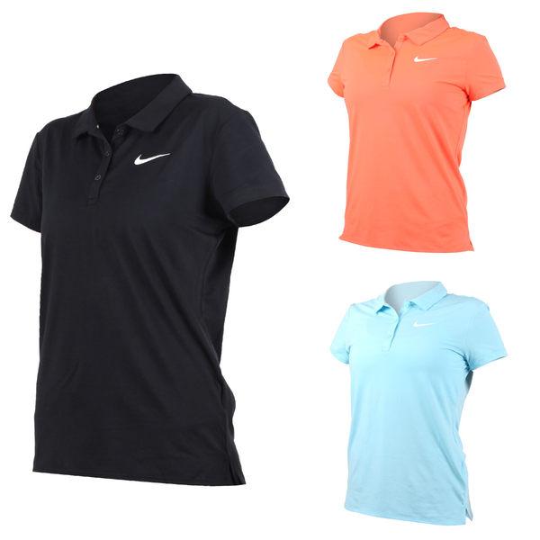 NIKE 女子短袖針織衫 (網球 高爾夫球 POLO衫≡體院≡