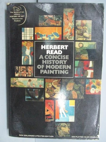 【書寶二手書T7/藝術_NSD】A Concise History of Modern Painting