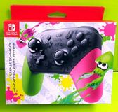 (預購年後) Nintendo Switch Pro 控制器 手把  漆彈大作戰 2 特別版控制器