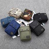 熱銷日本porter小腰包男單肩包穿皮帶6寸手機包迷你掛包百搭【無敵3C旗艦店】