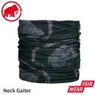 【MAMMUT 長毛象 Mammut Neck Gaiter 脖圍《黑/幻影》】1191-05815/頭巾/圍巾