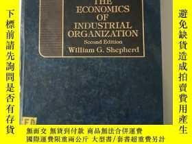 二手書博民逛書店the罕見economics of industrial org
