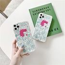 粉紅鱷魚人群抱抱 適用 iPhone12Pro 11 Max Mini Xr X Xs 7 8 plus 蘋果手機殼