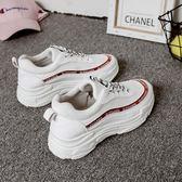 超火的鞋子夏新款透氣運動鞋韓版百搭原宿老爹鞋  米蘭shoe