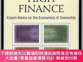 二手書博民逛書店預訂Fine罕見Art And High Finance: Expert Advice On The Econom