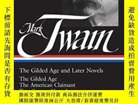 二手書博民逛書店The罕見Gilded Age And Later NovelsY256260 Mark Twain Libr