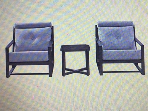 [COSCO代購] W1902413 戶外休閒桌椅 3件組
