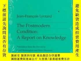 二手書博民逛書店The罕見Postmodern Condition-後現代狀態Y436638 Jean-francois Ly