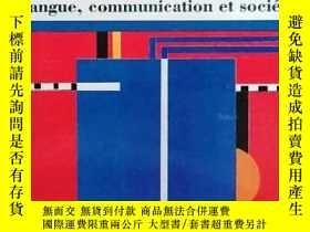 二手書博民逛書店《ELEMENTS罕見DE SOCIOLINGUISTIQUE – Langue, communication e