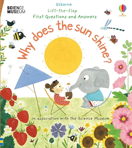 Lift-The-Flap First Questions And Answers Why Does The Sun Shine? 為什麼太陽公公會升起? 翻翻學習書 精裝本